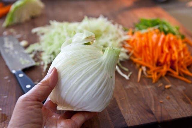 seeds asian slaw with ponzu dressing steamy kitchen recipes asian slaw ...