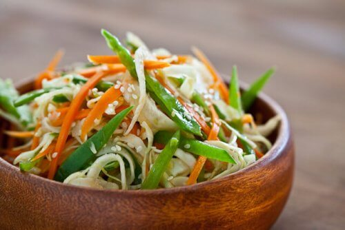 Asian slaw with ponzu sauce recipe