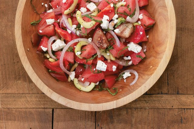 Tomato-Watermelon-Salad