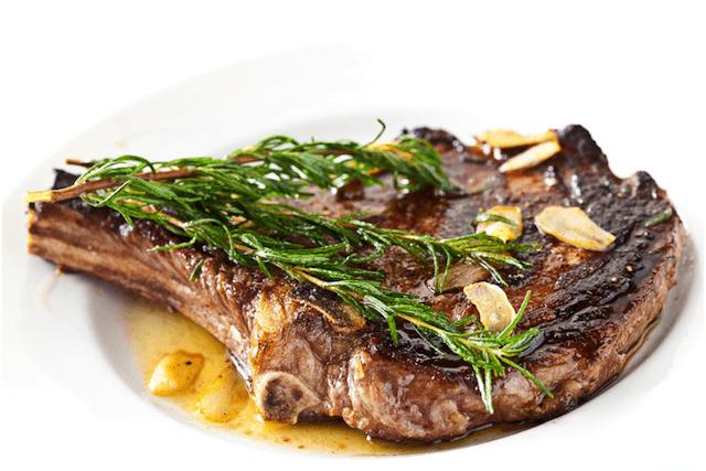 Rosemary Garlic Steak - Steamy Kitchen Recipes