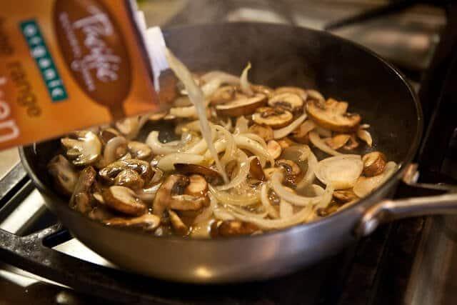 Steak with Whiskey Mushroom Sauce - Steamy Kitchen Recipes