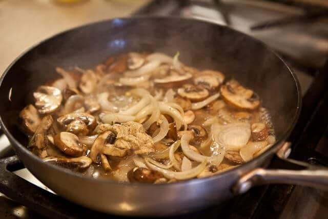 Porterhouse Steak With Whisky Mushroom Sauce Recipe — Dishmaps