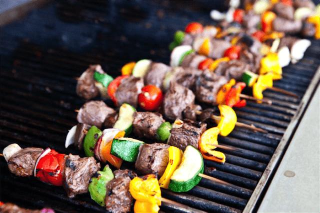 Asian Steak Kebabs Recipe