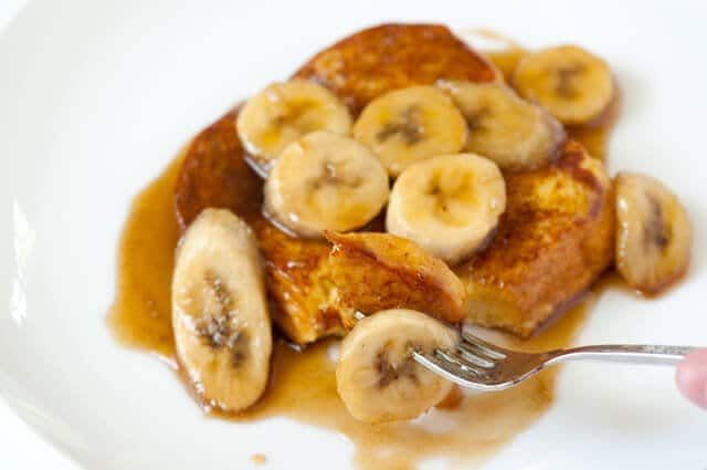 Bananas Foster French Toast • Steamy Kitchen Recipes