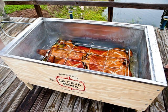 Pig Roast In La Caja China Steamy Kitchen Recipes