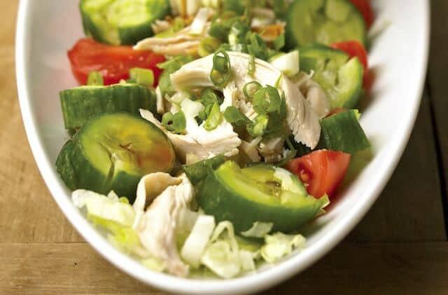 Shoko's Sesame Chicken Salad