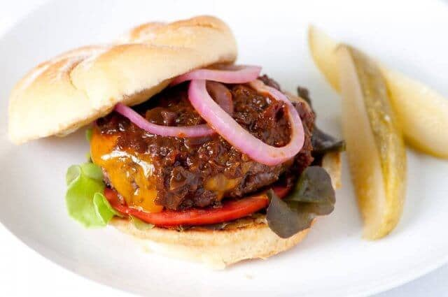 ketchup chutney burger recipe 1