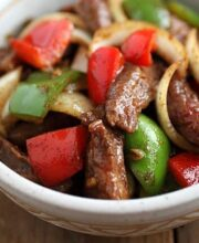 Black Pepper Steak Recipe