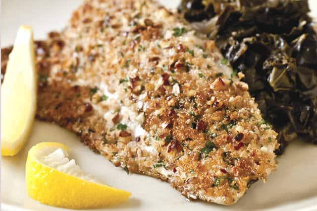 Pan Seared Trout with Pecan Browned Butter