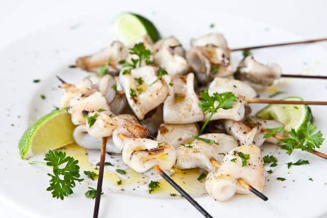 Simple Grilled Calamari - Steamy Kitchen Recipes