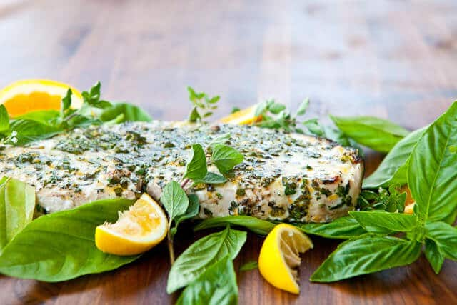 Grilled Fish with Citrus Herb Crust Recipe - final photo-5324