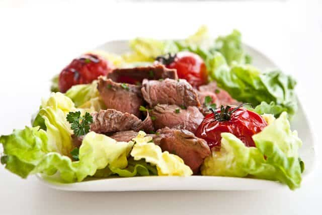 Grilled Steak and Tomato Salad with Rum Vinaigrette - Steamy Kitchen ...