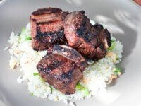 Kalbi Ribs with Macadamia Nut Rice Recipe1