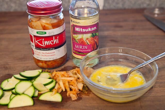 Kimchi Omelet - Steamy Kitchen Recipes