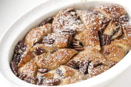 Nutella Bread Pudding Recipe - final