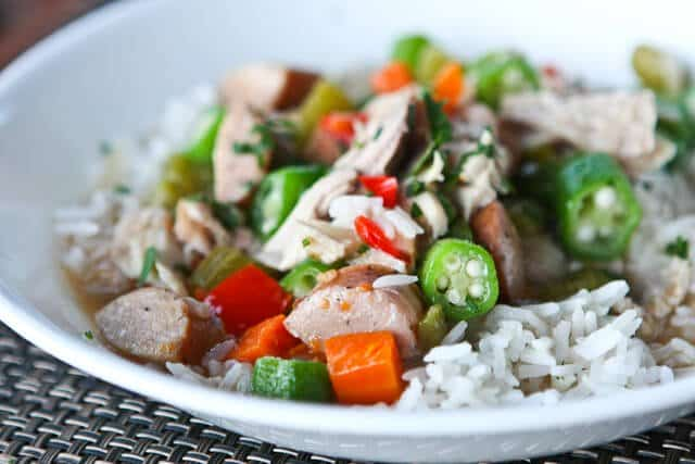 Leftover Turkey Recipe: Turkey Gumbo