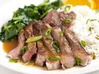 Orange Miso Steak Recipe