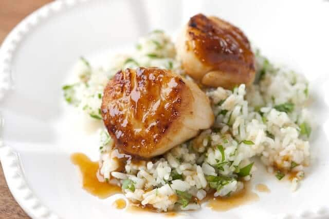 Scallops with Apricot Sauce - Steamy Kitchen Recipes