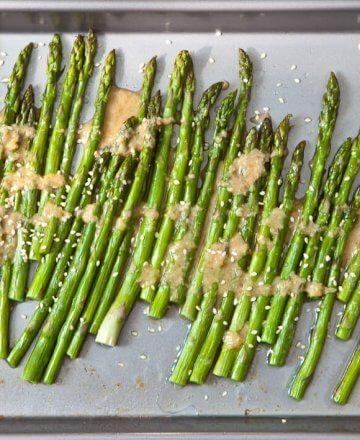 Miso Ginger Asparagus Recipe