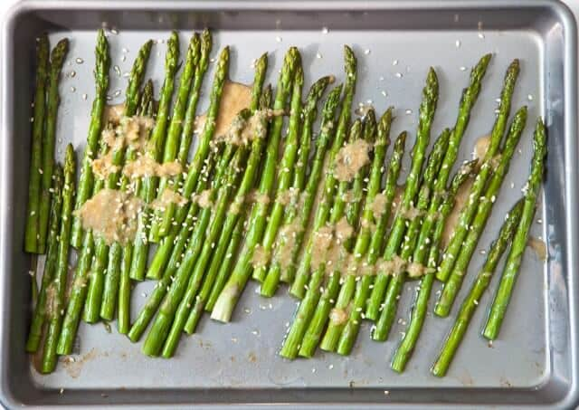 Miso Ginger Asparagus - Steamy Kitchen Recipes