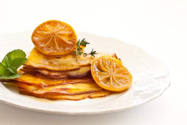 Crepes With Salted Lemon Butter Caramel Steamy Kitchen Recipes