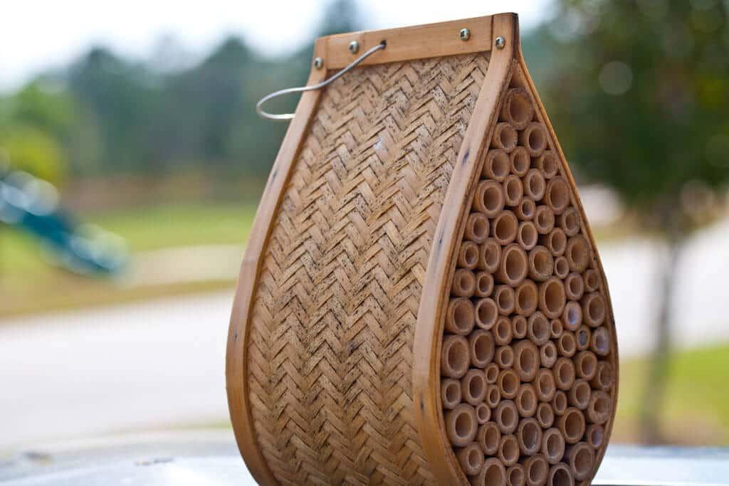 Mason bee houses diy