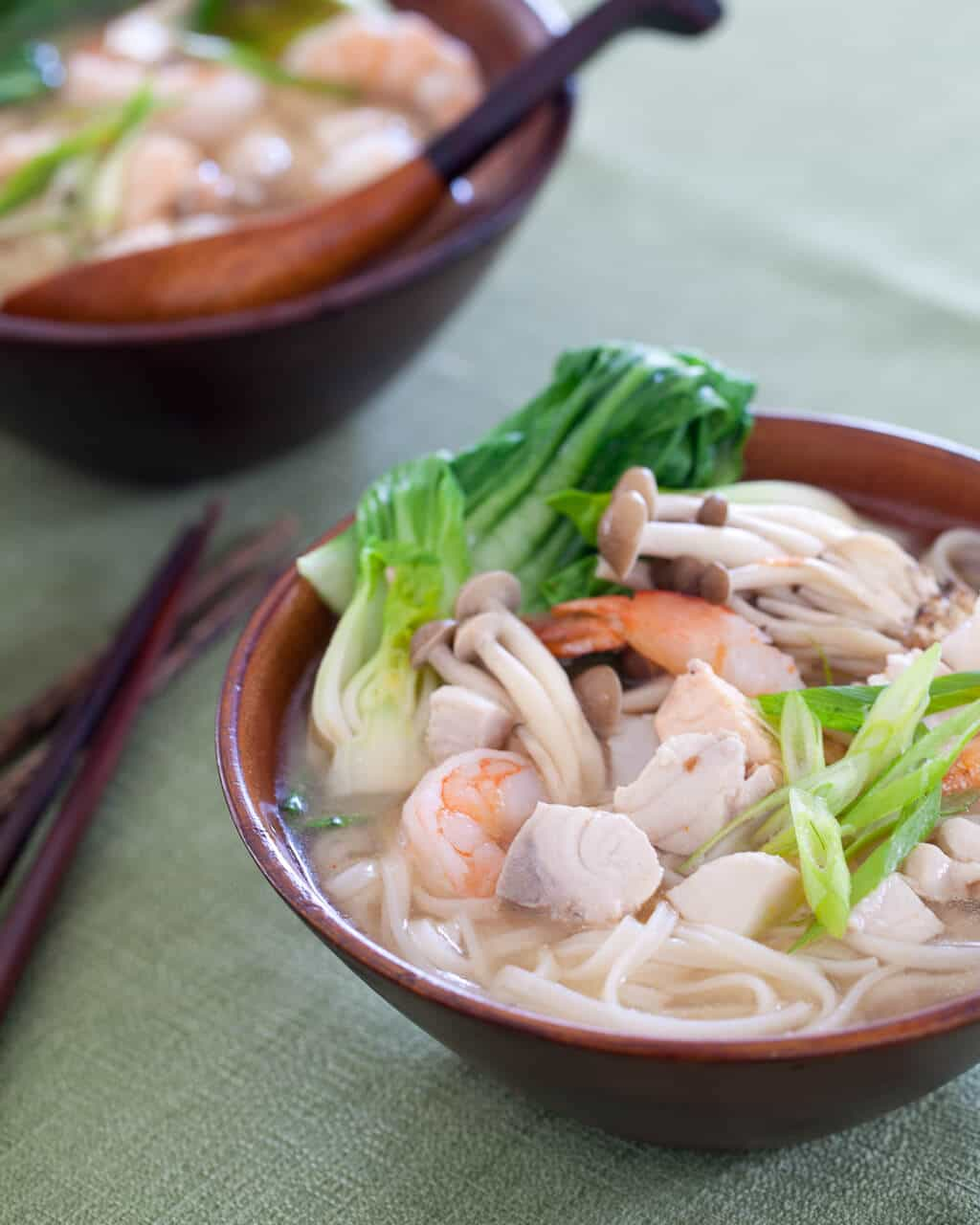 Seafood Miso Noodle Soup Steamy Kitchen Recipes Giveaways
