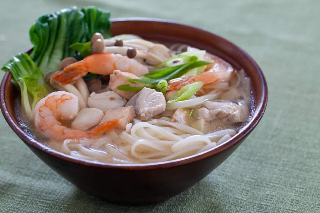 Seafood Miso Noodle Soup - Steamy Kitchen Recipes