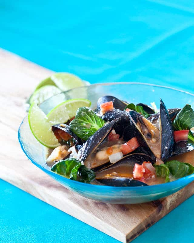 Spicy Mussels Miso Recipe
