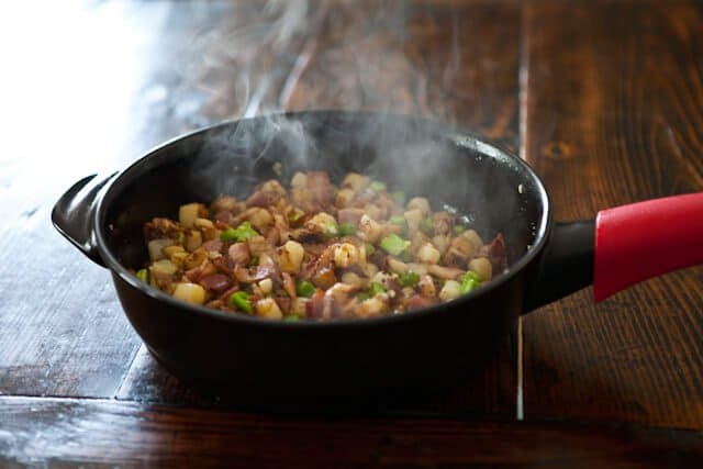 Broccoli Potato Bacon Hash Recipe
