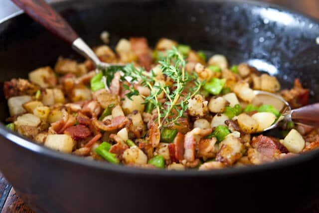 winner here is Broccoli, Potato and Bacon Hash – with a little ...