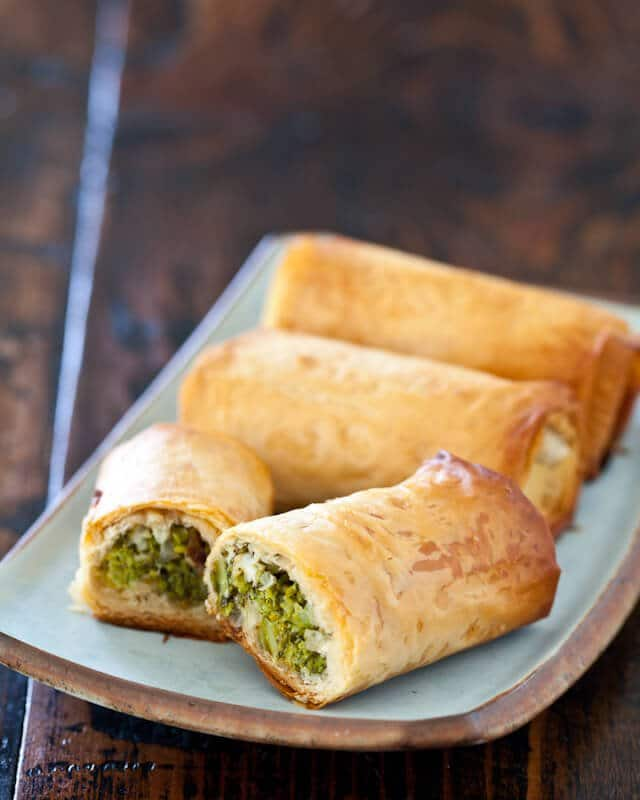 Broccoli Spanakopita - Steamy Kitchen Recipes
