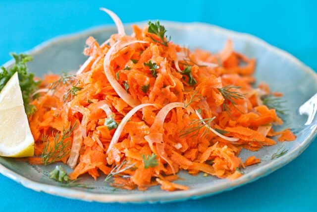 final dish French Carrot Fennel Salad Recipe