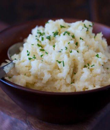 "Cauliflower Mashed ""Potatoes"""