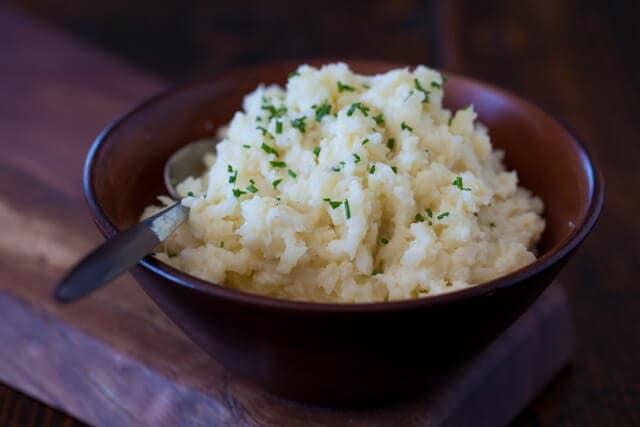"Cauliflower Mashed ""Potatoes"" Recipe 