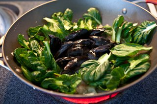 Spicy Steamed Mussels in Miso Broth • Steamy Kitchen Recipes