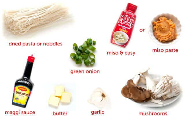miso butter 5 add in the cooked pasta garlic noodles with miso and ...