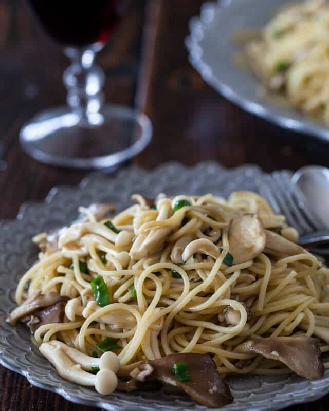 Garlic Noodles with Miso Butter Steamy Kitchen Recipes