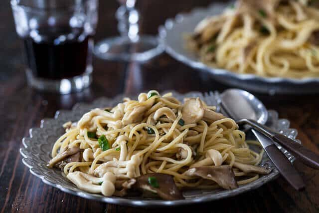 Garlic Noodles With Miso Butter Steamy Kitchen Recipes Giveaways