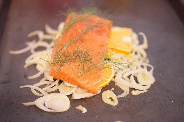 Miso Salmon with Orange and Fennel Recipe - Steamy Kitchen ...
