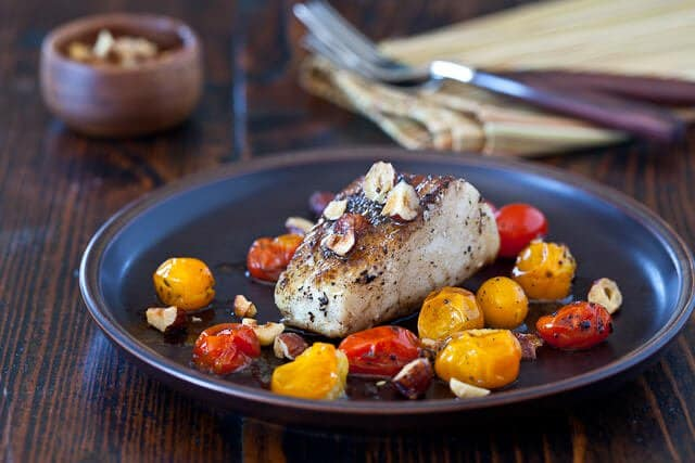 Cod with Hazelnut Browned Butter