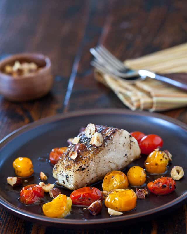 Cod Fish Hazelnut Browned Butter Recipe