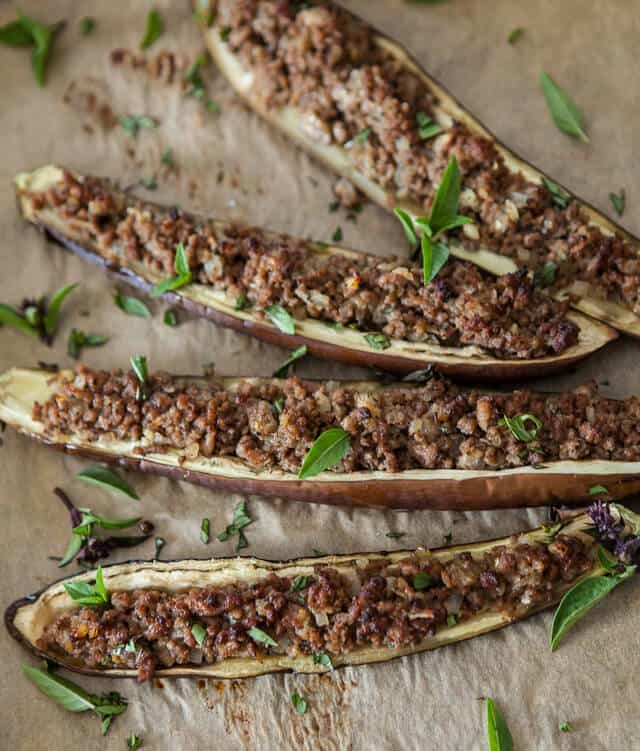 Stuffed Miso Eggplant Recipe
