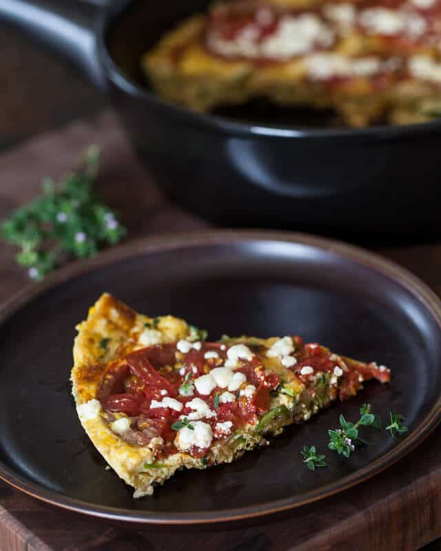 Zucchini Frittata Recipe - Steamy Kitchen Recipes