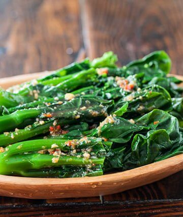 Chinese Broccoli with Garlicky Ginger Miso - Steamy ...