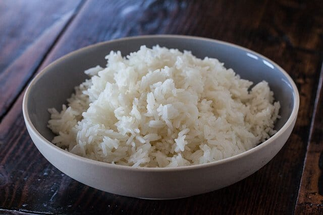 Easy  microwave rice recipe