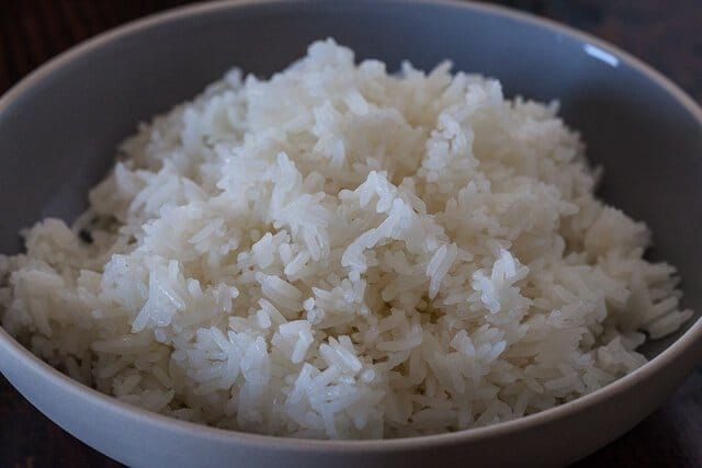 Evenly Cooked Microwaved Rice Recipe