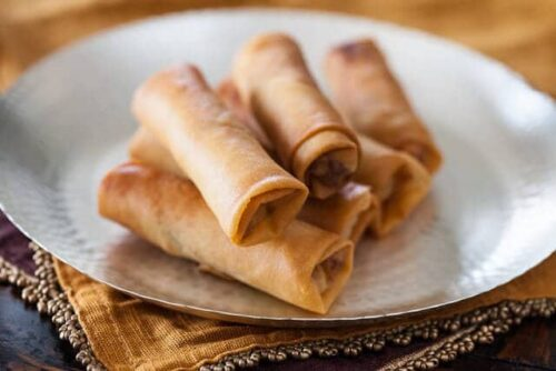 Chinese Spring Rolls with Chicken Recipe