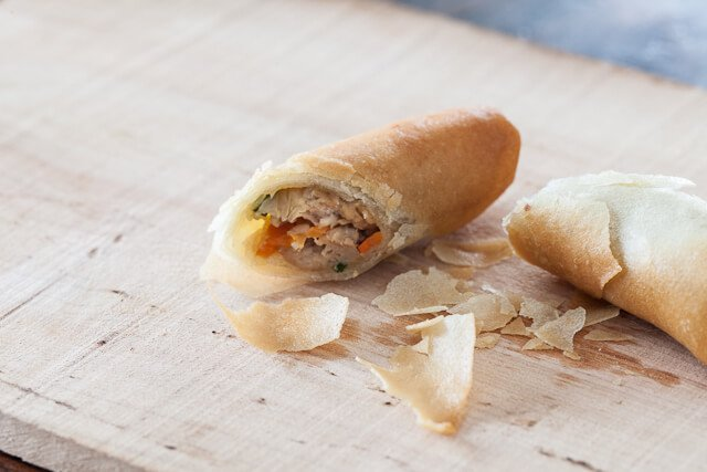 Spring Roll Recipe Crispy Detail