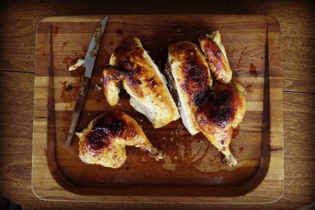 Miso Roast Chicken cut-up